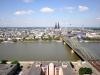 Panoramablick vom Köln Triangle
