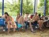 Picknick im Schwimmbad