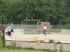 Beim Football spielen