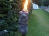 Die Fackel brennt
