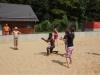 Lagerolympiade: Wasserbombenvolleyball